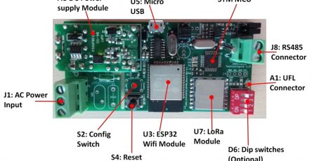 Single Phase Energy Monitoring using Armtronix Wifi RS485 LoRa (IA013 D) and PZEM-016